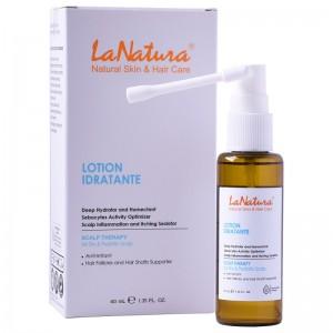 سرم درمان خشکی پوست و موی سر لاناتورا