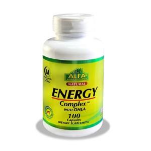 کپسول انرژی کمپلکس با DHEA آلفا ویتامینز ۱۰۰ عددی