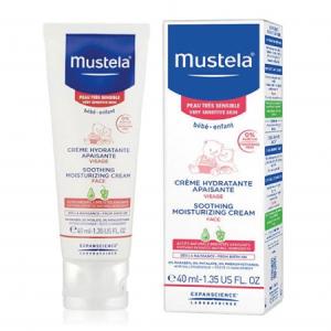 کرم رطوبت رسان و تسکین دهنده پوست حساس کودک موستلا