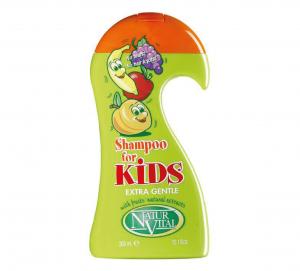 شامپو بچه نچرال ویتال حاوی عصاره میوه ها
