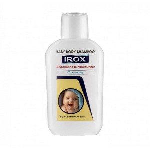 شامپو بدن بچه کرمی ایروکس مناسب پوست های خشک و حساس 200 گرم