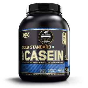 پودرکازئین گلد استاندارد شکلاتی اپتیموم نوتریشن 1.8 کیلوگرمی