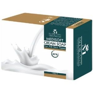 صابون کرمدار مدیلن مناسب انواع پوست وزن 100 گرم