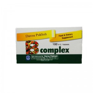قرص ویتامین ب کمپلکس  داروپخش 100 عددی