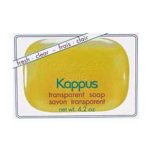 صابون گلیسیرین شفاف کاپوس