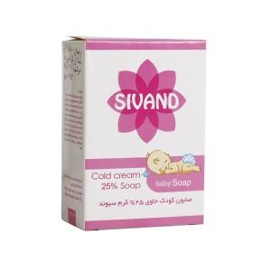 صابون کودک حاوی 25 درصد کرم سیوند