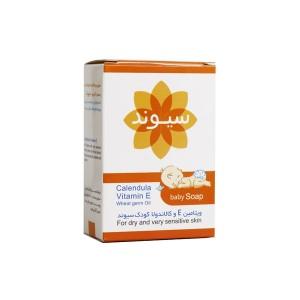 صابون بچه سیوند حاوی ویتامین E و کالاندولا