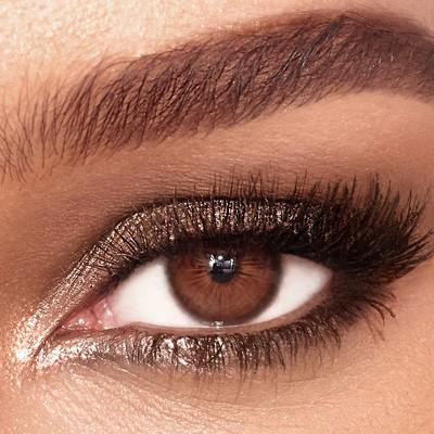 شش ترفند برای زیباتر شدن چشم های قهوه ای
