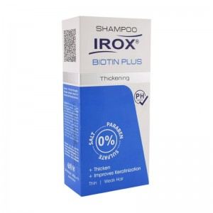 شامپو استحکام بخش مو بيوتين پلاس ایروکس ۲۰۰ میلی لیتر