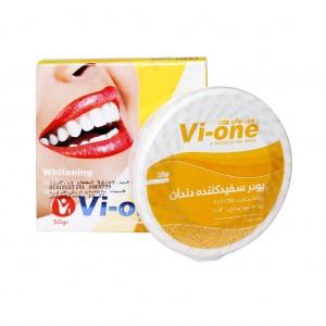 پودر سفید کننده دندان پرتقال وی وان ۵۰ گرم