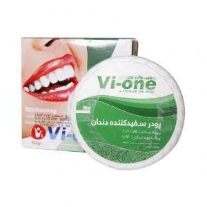 پودر سفید کننده دندان نعناع وی وان ۵۰ گرم