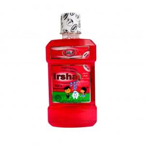 محلول دهانشویه کودک 6 تا 12 سال ایرشا با طعم توت فرنگی 250 میلی لیتر