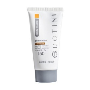کرم ضد آفتاب دوتینی SPF50 فاقد چربی بی رنگ 50 میلی لیتر