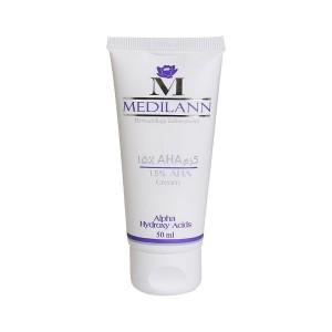 کرم لایه بردار AHA 15 درصد مدیلن مناسب انواع پوست 50 میلی لیتر