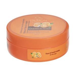 کرم مرطوب کننده دست و صورت دیلمون حاوی عصاره پرتقال و زنجبیل حجم 200میل