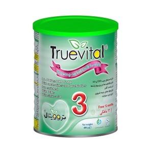 شیر خشك تروویتال 3 برای نوزادان بالای 1 سال 400 گرمی نیكسان سلامت بهبود