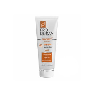 پرودرما کرم ضد آفتاب ضدچروک SPF90