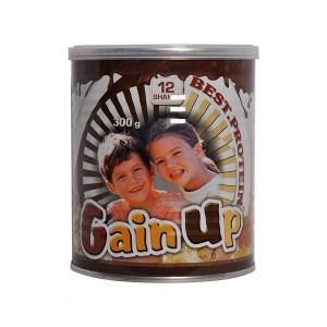 مکمل غذایی کودکان شکلاتی گین آپ کارن  300 گرمی