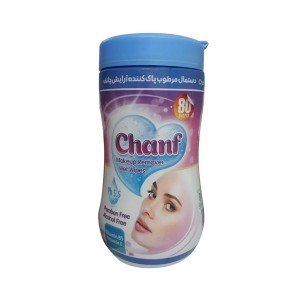 چانف دستمال مرطوب پاک کننده آرایش قوطی