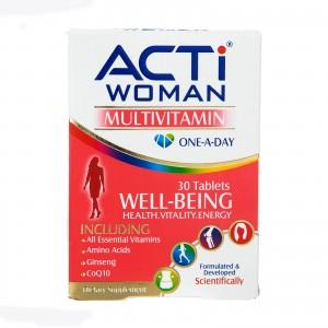 مولتی ویتامین اکتی وومن ابیان دارو